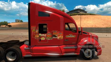 Скин The Coastal для Kenworht T680 for American Truck Simulator