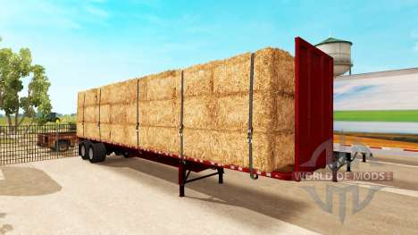 Semi-trailer-platform for American Truck Simulator