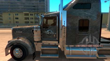 Kenworth W900 SCS Paintjob for American Truck Simulator