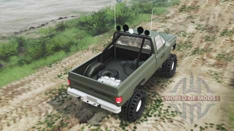 Chevrolet K5 Blazer M1008 [03.03.16] for Spin Tires