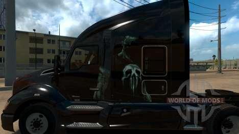 Skin Punisher for Kenworth T680 for American Truck Simulator