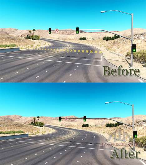 Without barriers for American Truck Simulator