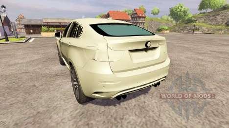 BMW X6 M for Farming Simulator 2013