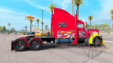Skin Pick-up truck for the Peterbilt 389 for American Truck Simulator