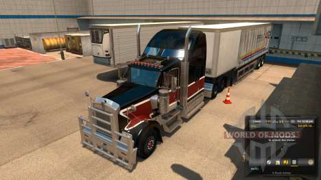 New layout unloading Unload Symbol V 1.1 Mod for American Truck Simulator