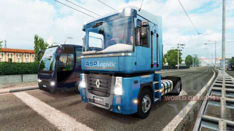 Coloring pages of trucks for traffic v1.1 for Euro Truck Simulator 2