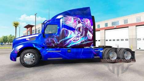 Eagle skin for the truck Peterbilt for American Truck Simulator
