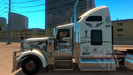 Uncle D Logistics - Master Craft Kenworth W900 S for American Truck Simulator