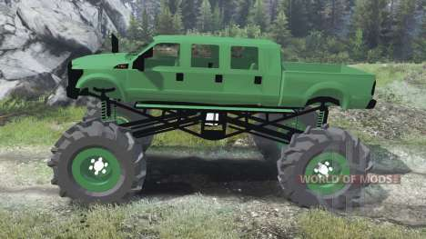 Ford F-350 [six doors][03.03.16] for Spin Tires