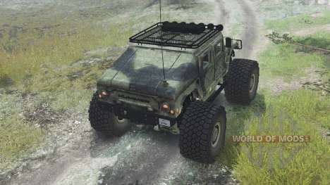 HMMWV M-1025 [03.03.16] for Spin Tires