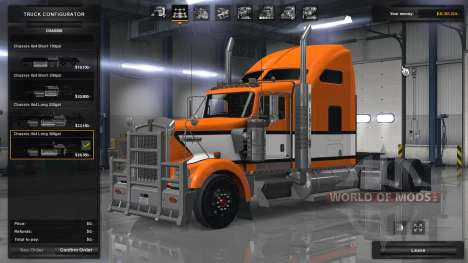 Realistic physics and suspension for American Truck Simulator