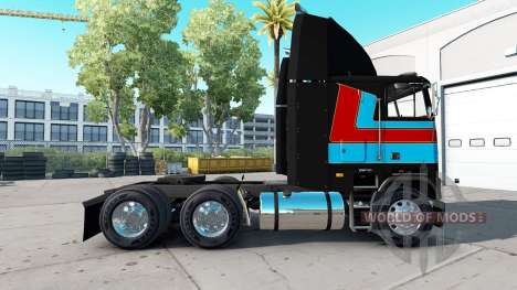 Skin Andre Bellemare on the tractor unit Freight for American Truck Simulator