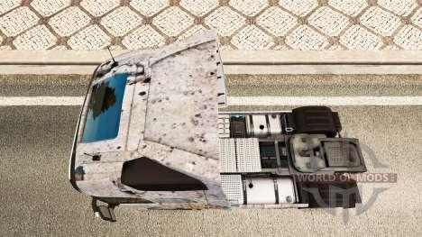 Battlefield 4 skin for Volvo truck for Euro Truck Simulator 2