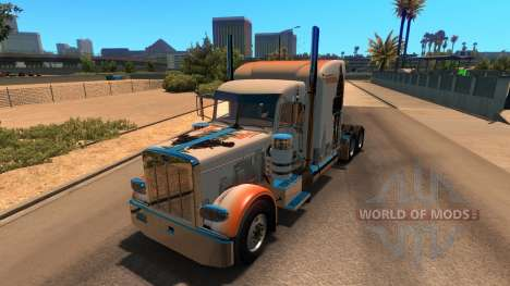 Skin The Division for Peterbilt 389 for American Truck Simulator