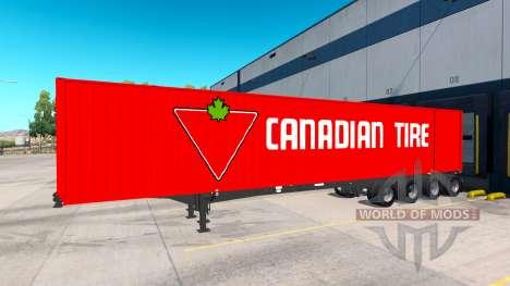 The Semi-Trailer Container 53 for American Truck Simulator