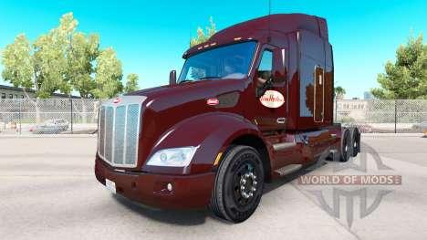 Tim Hortons skin for Peterbilt and Kenworth truc for American Truck Simulator