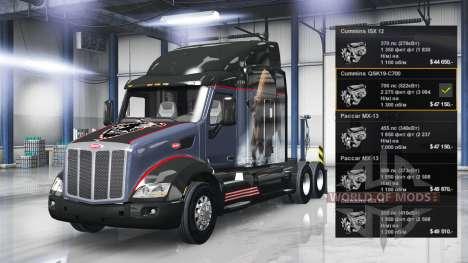 Engine Cummins QSK19-C700 for American Truck Simulator