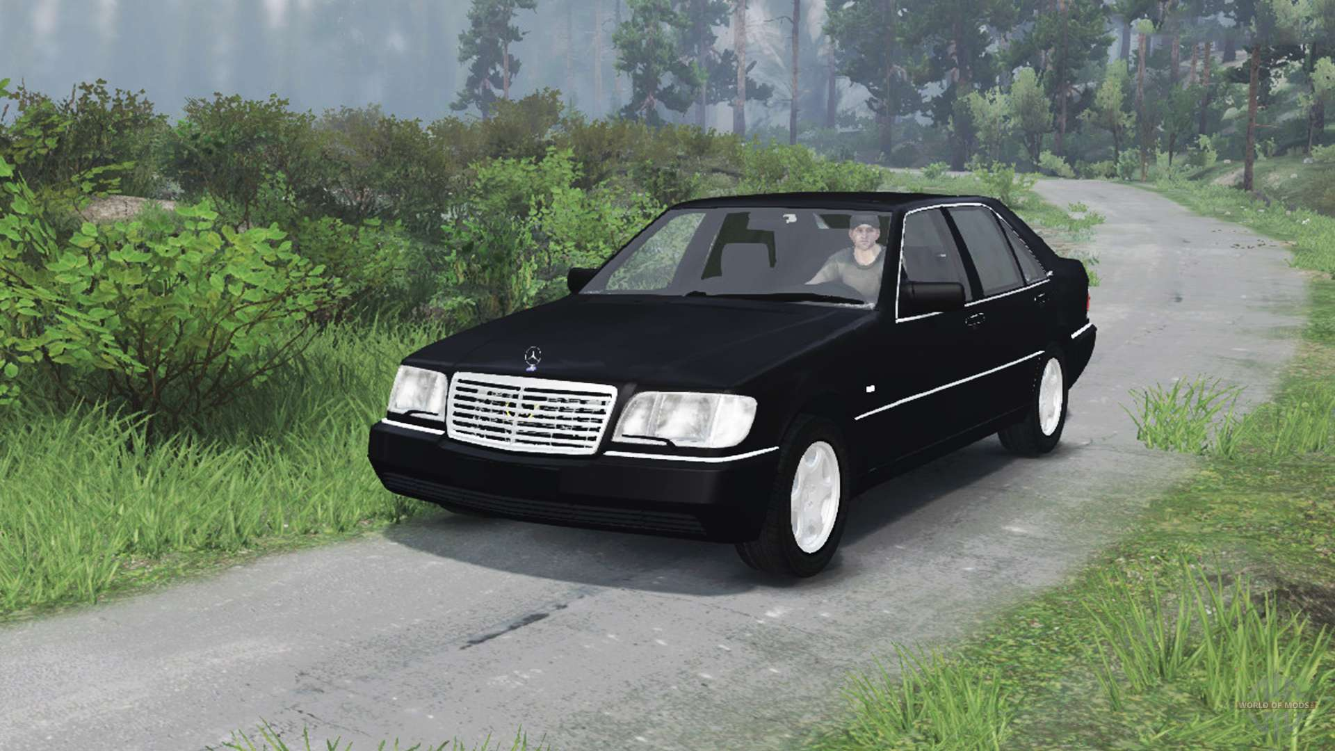 mercedes benz for spintires download for free \u2014 page 2mercedes benz s600 (w140)[03 03 16] for spin tires