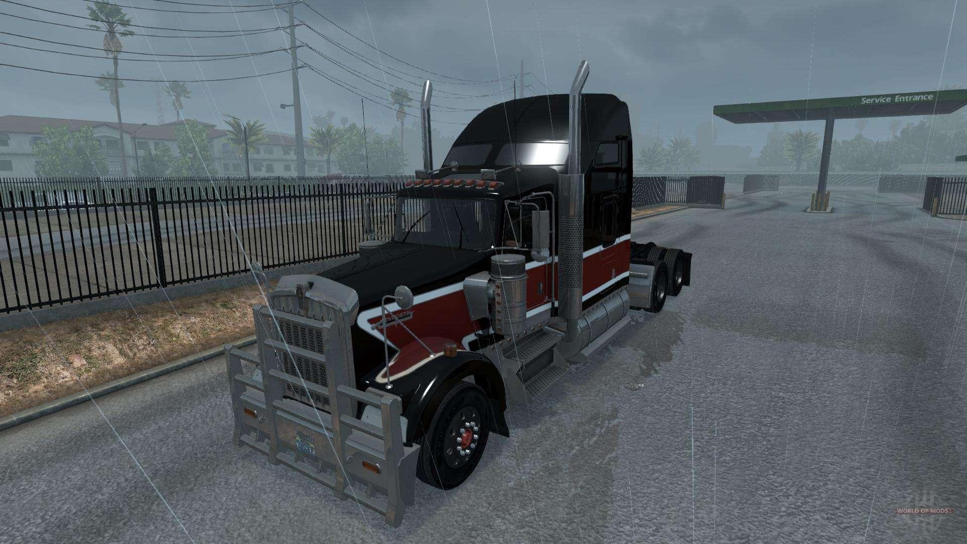 New rain (Realistic 3D ASMR Rain Fog Thunder) for American