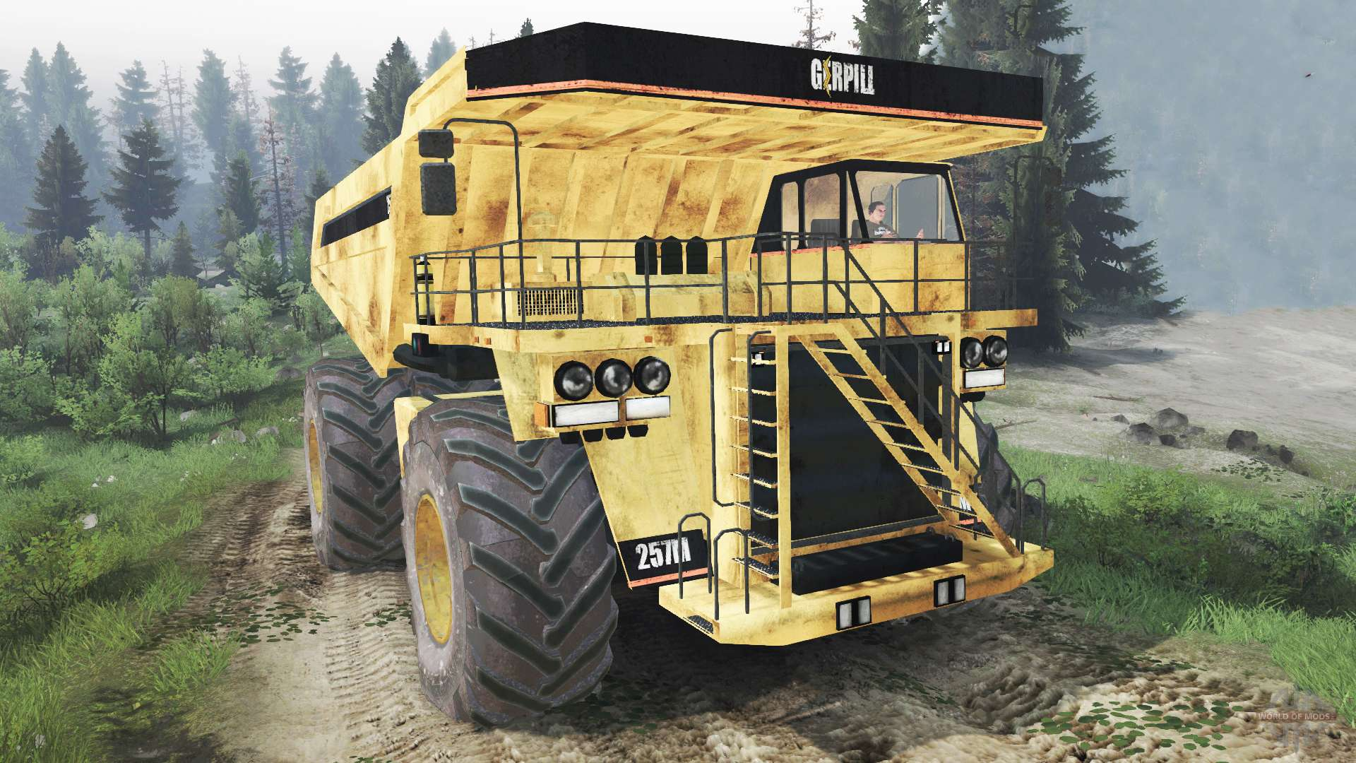 how to change dump truck tire