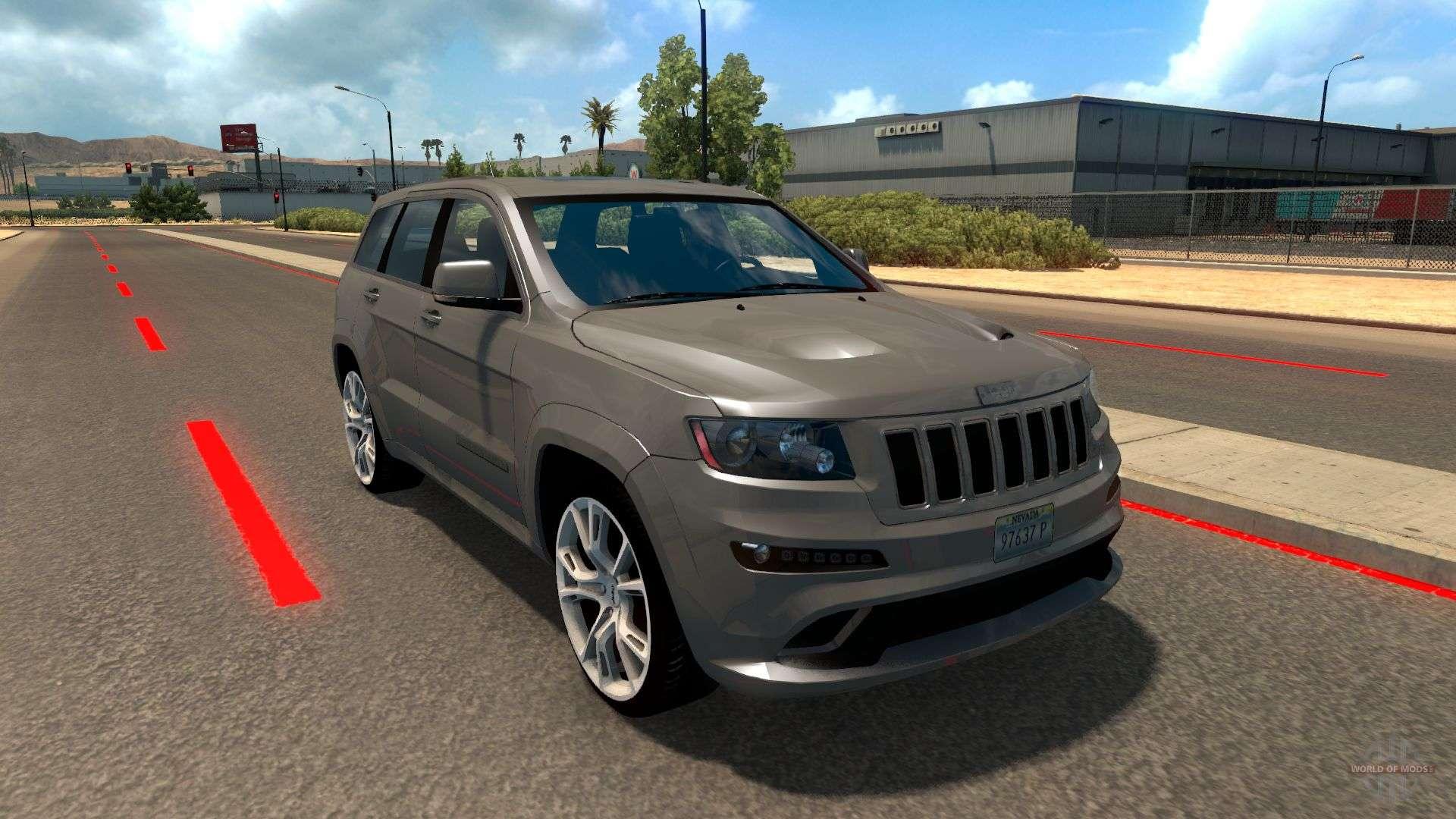 jeep grand cherokee srt8 for american truck simulator. Black Bedroom Furniture Sets. Home Design Ideas
