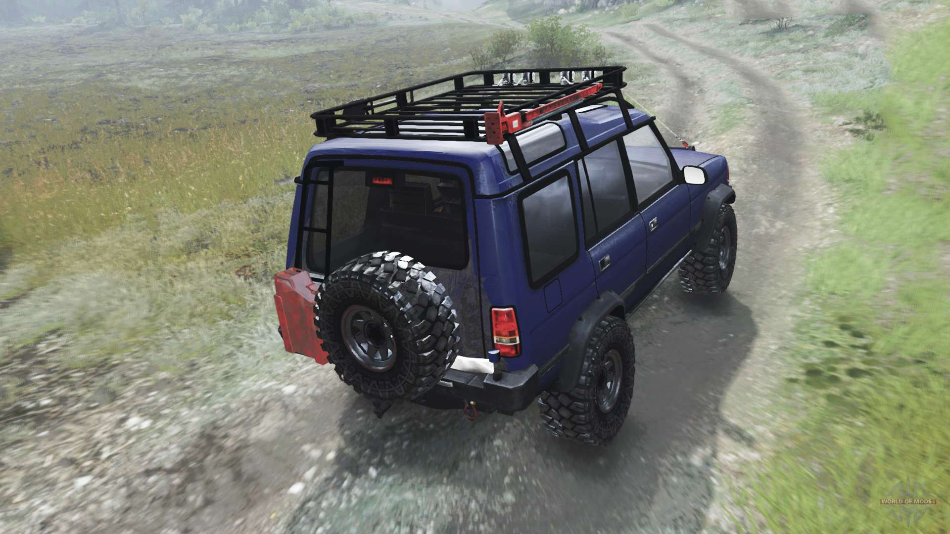 1998 Land Rover Discovery 030316 For Spin Tires