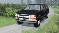 Chevrolet Suburban GMT400 [03.03.16] for Spin Tires