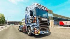Skin Mass Effect 3 on the tractor unit Scania