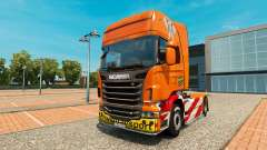 Heavy Transport skin for Scania truck
