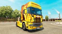 Fire skin for Scania truck