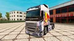 RedBull skin for Volvo truck