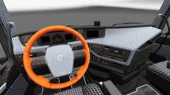 Plaid interior Volvo FH
