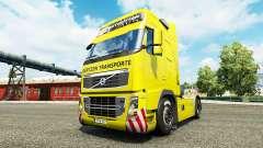 Gertzen Transporte skin for Volvo truck