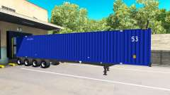The Semi-Trailer Container 53