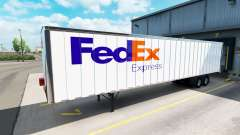 Skins UPS and FedEx for trailers