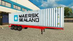 The Semi-Trailer Maersk Sealand