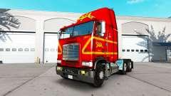 Skin on SAIA truck Freightliner FLB