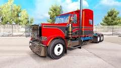 Metallic skins for the Peterbilt 389 tractor