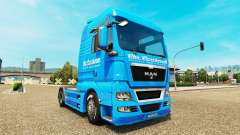 Carstensen skin for MAN truck