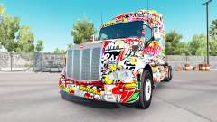Skin Sticker for Peterbilt and Kenworth trucks