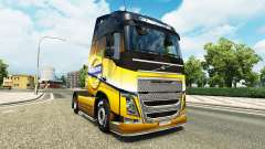 The Volvo Special 2012 skin for Volvo truck for Euro Truck Simulator 2