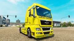 Gertzen Transporte skin for MAN truck