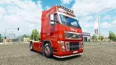 Lognet skin v2.0 for Volvo truck for Euro Truck Simulator 2