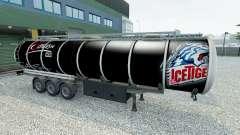 Skin Nuremberg Ice Tigers on the trailer