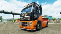 Racing Team skin for Volvo truck for Euro Truck Simulator 2