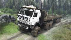 KamAZ-43114 [03.03.16] for Spin Tires