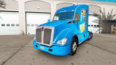 Skin White Castle on a Kenworth tractor