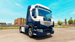 Skin Williams F1 Team for Renault truck