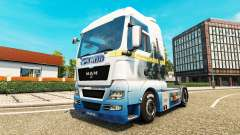 Skin Lord of the Rings on the truck MAN for Euro Truck Simulator 2