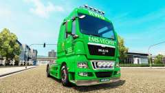 Skin EMS-Vechte on the truck MAN for Euro Truck Simulator 2